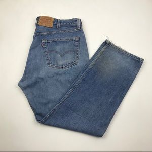 VTG Levi's 501 Big E High Waisted Wedgie Jeans